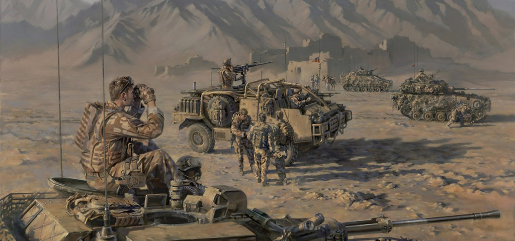 In the Foothills of the Hindu Kush by Stuart Brown