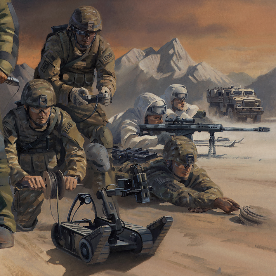 Forged In Fire Military Artist Stuart Brown
