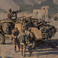 Household Cavalry afghanistan D2