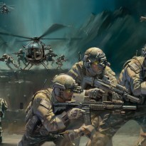 Into the Breach Print detail