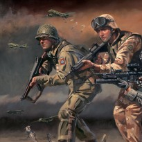 Paratroopers Answering the Call 82nd airborne detail