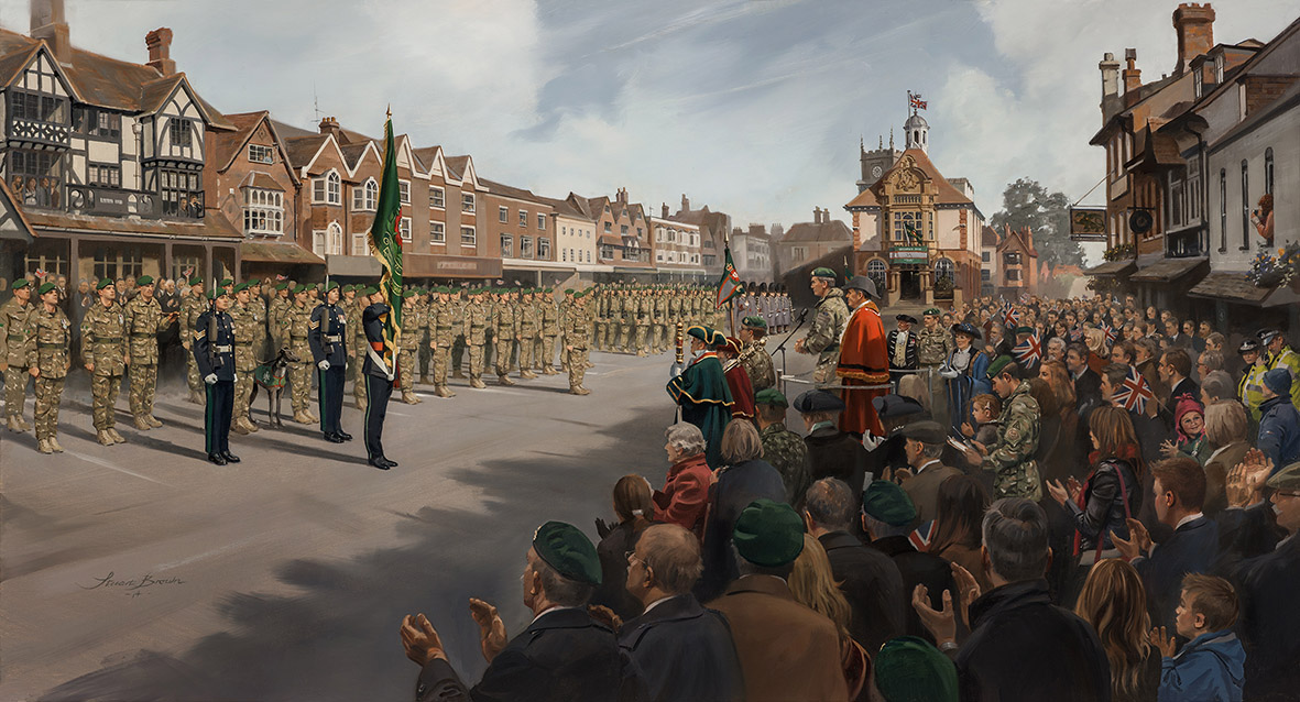 Coming Home The Intelligence Corps by Stuart Brown