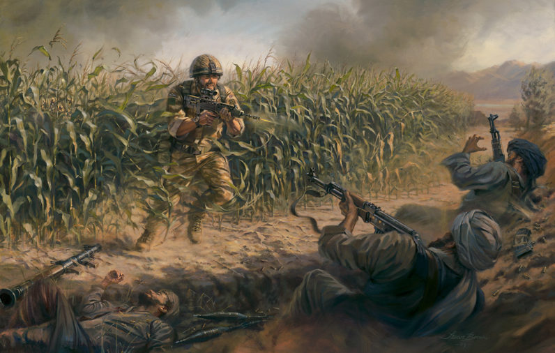 Cpl Bryan Budd VC of 3rd Battalion The Parachute Regiment