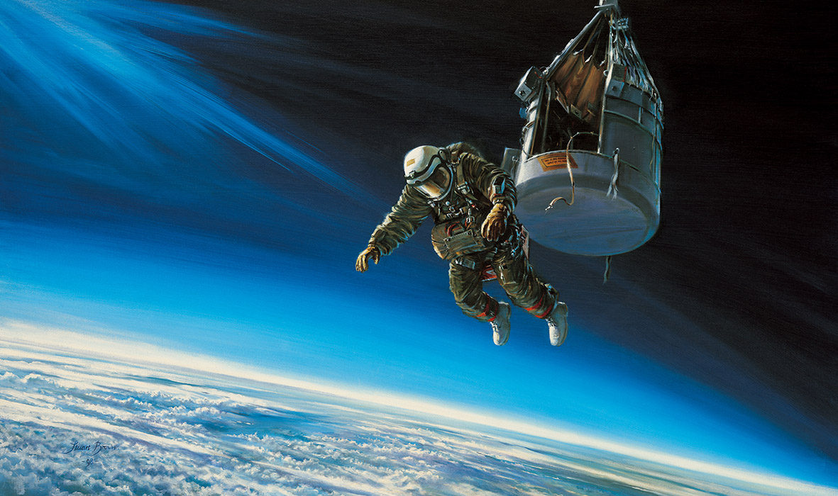 Col Joe Kittinger Excelsior III The Long Lonely Leap