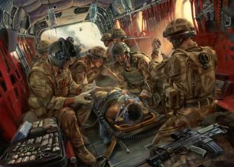 In Safe Hands. MERT team in Afghanistan by Stuart Brown