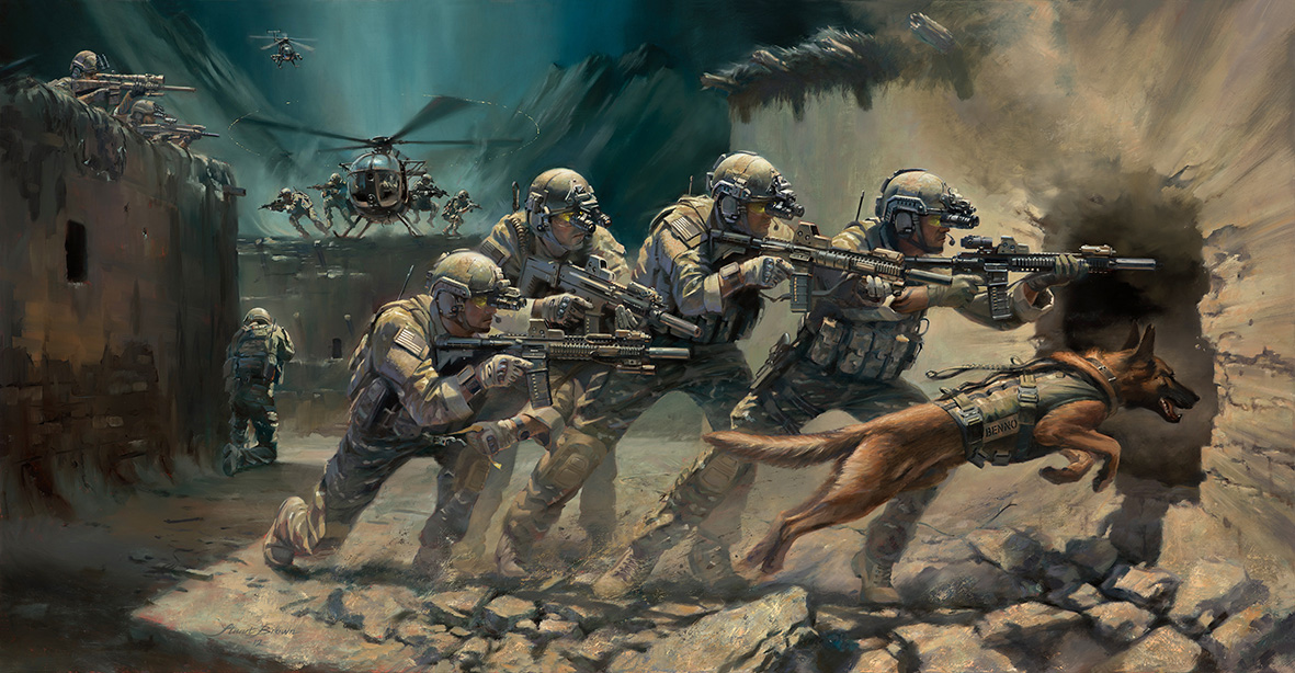 Into the Breach. 75th Ranger Regiment by Stuart Brown.