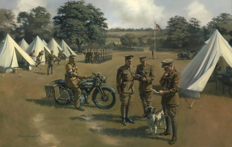 Longest Camp Royal Corps of Signals by Stuart Brown