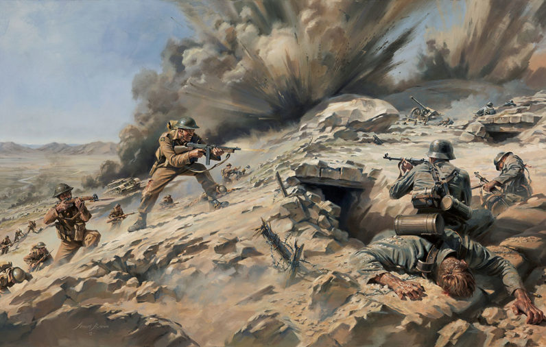 Longstop Hill 1943 Major-Anderson-VC Argyll and Sutherland Highlanders