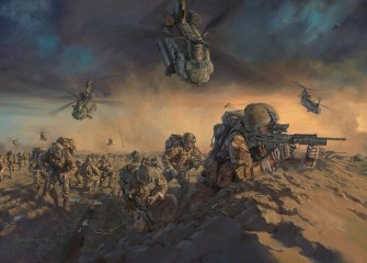 Operation Moshtarak 1 Royal Welsh by Stuart Brown