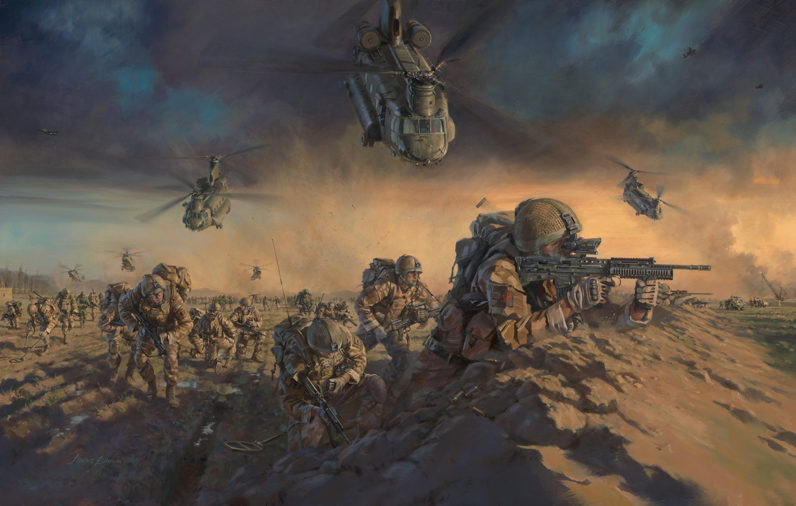 Operation Moshtarak 1 Royal Welsh by Stuart Brown