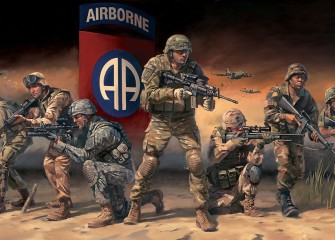 Paratroopers Answering the Call 82nd-airborne by Stuart Brown