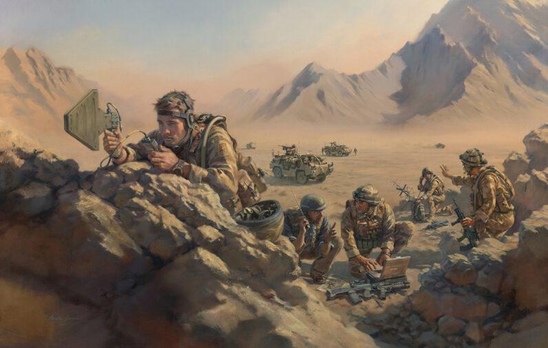 'Task-task-task' Royal Corps Signals by Stuart Brown