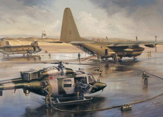 47 Sqn Teamwork by Stuart Brown