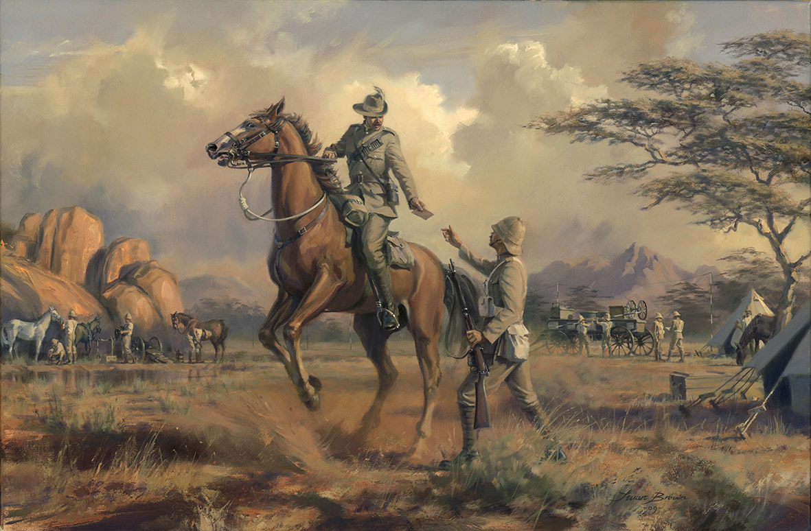 Urgent for Capetown Royal Corps of Signals by Stuart Brown