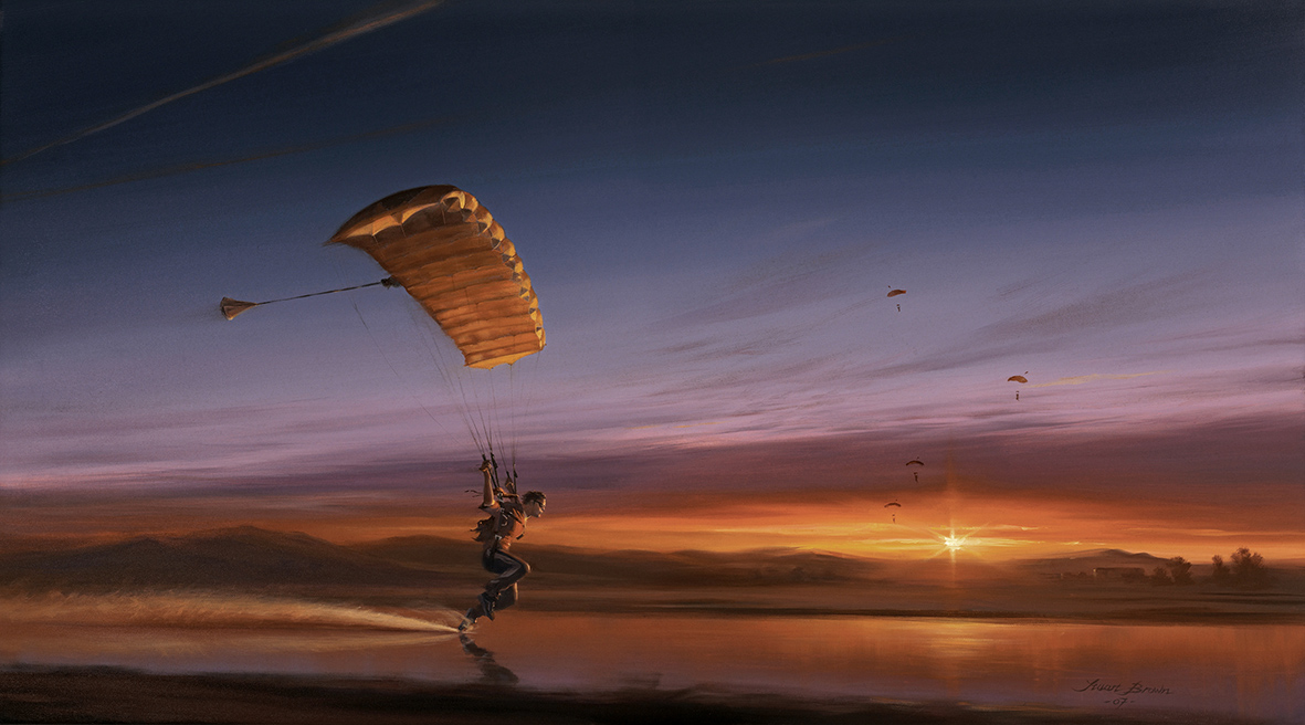Sunset Swoop by Stuart Brown